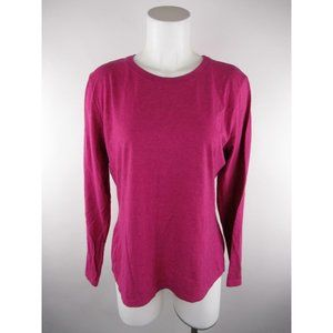 Hanes L Cotton Polyester Classic Fit T-Shirt Top